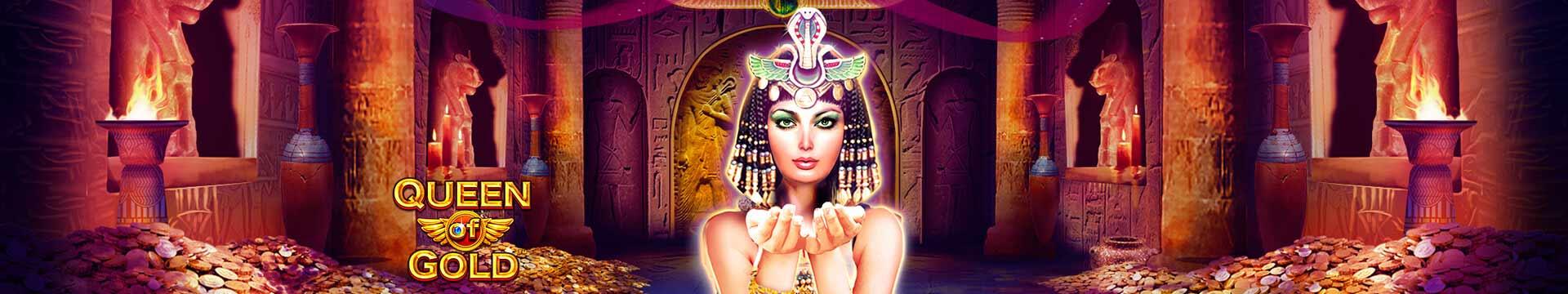 Slider Banner - Queen of Gold